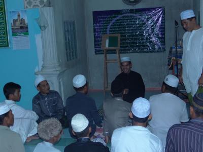 โครงการสนับสนุนการประกอบศาสนกิจในเดือนรอมฏอนประจำปี 2558