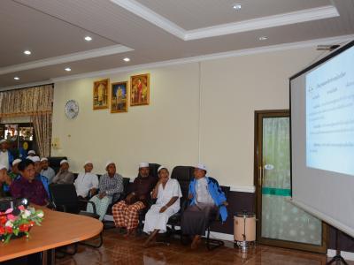 กิจกรรมมอบศุนย์ประสานงาน ศาสนา ประเพณี วัฒนธรรม ตำบลลุโบะบือซา