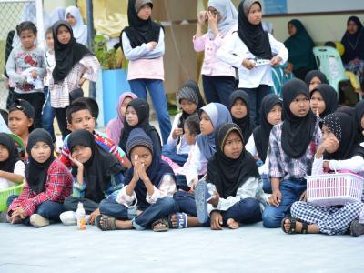 กิจกรรมเข้างานวันเด็กโรงเรียนฮาซานียะห์
