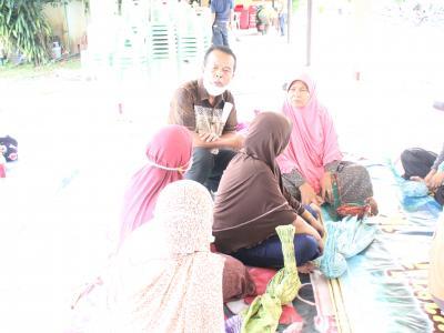 กิจกรรมส่งเสริมและสนับสนุนการฝึกอบรมหลักสูตรการทำขชันหมากอิสลาม