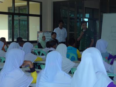 โครงการการอบรมค่ายคุณธรรม จริยธรรม สำหรับนักเรียนตาดีกา 59