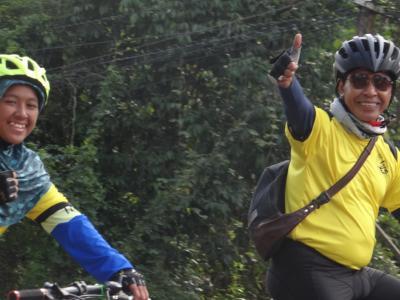 กิจกรรมปั่นจักรยาน ปลูกต้นไม้เฉลิมพระเกีรยติ