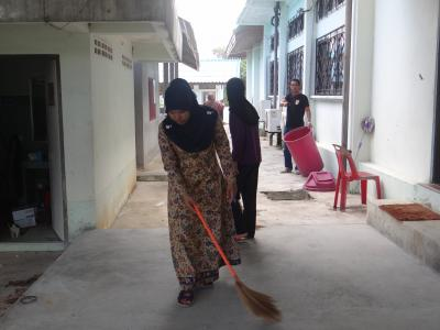 กิจกรรรมรวมพลังทำความสะอาด