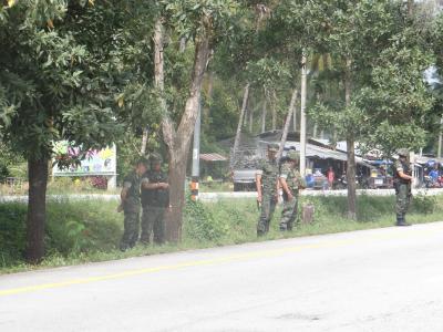 กิจกรรมซ้อมแผนเผชิญเหตุในพื้นที่ตำบลลุโบะบือซา