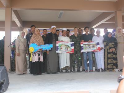 โครงการเดินเท้าเข้าทุกชุมชน ร่วมส่งเสริม สังคมพหุวัฒธรรม