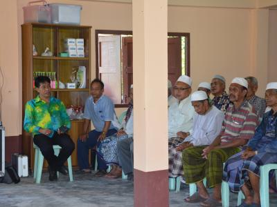 โครงการบรรยายธรรมผู้สูงอายุและคนพิการ
