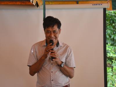 กิจกรรมเป็นประธานเปิดบุรณาการโครงการของ รพสต.ลุโบะบือซา