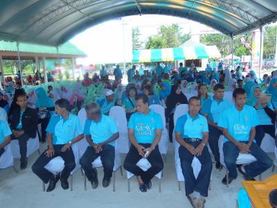 กิจกรรมถวายพระพรและชมนิทรรศการองค์การบริหารส่วนตำบลลุโบะบือซา
